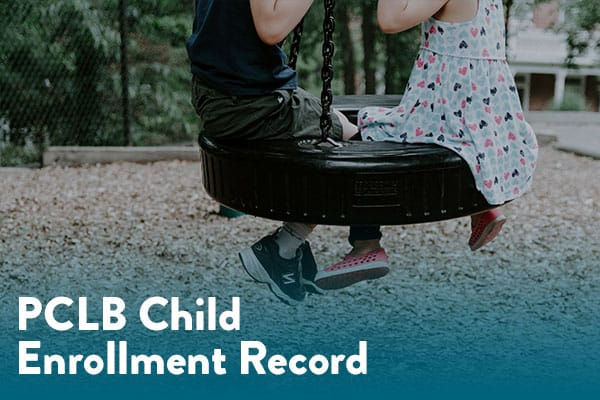 Download PCLB Child Enrollment Record